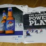 labatt power play pennants-20'-$10
