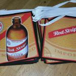 red stripe pennants-$10