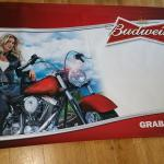 bud motorcycle banner-3x6-$12