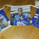 #4 harvick busch racing pennants-$10