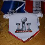 bud/bud light superbowl 51 pennants-$8