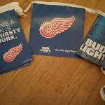 bud light redwing pennants-$8