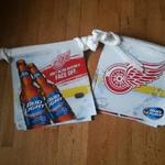 bud light red wings pennants-20'_$10