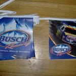 busch racing pennants-20'-$10