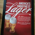 bud smooth lager canvas print-36x24--$25