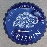 "crispin cider bottle cap tin-20""-$10"