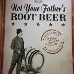 not your fathers root beer tin sign- 24x18-$15