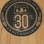 "bells brewery 30th aniversary tin-16""-$20"