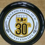 bells 30th anniversary tray-14'-$10