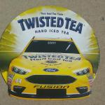 "twisted tea nascar sign-22"" round-$20"