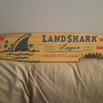 landshark surfboard- two sizes-46x10-$90-30x6-$50