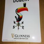 guinness just in from dublin toucan-19x14-$20