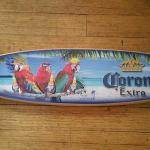 corona surfboard-- two sizes-46x10-$90- 26x6-$40