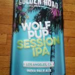 golden road wolf pup ipa sign-23x12-$20
