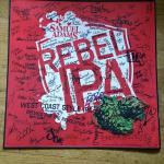 sam adams rebel ipa graffiti sign- 18x18-$15