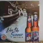 labatt blue sky summer tin-20x20-$15