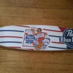 pabst blue ribbon surfboard-two sizes-46x10-$90-23x6-$45