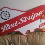 red stripe tin-36x15-$30