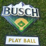 busch play ball  2 tin set-$40