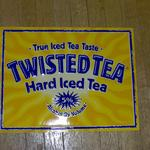 twisted tea tin-18x14-$10