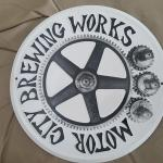 "motor city brew works tin-12""-$25"