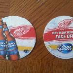 red wings coasters-125 for $10