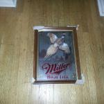 miller high life first edition pheasant-20x16-$45