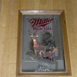 high life deer michigan mirror-20x16-$45  also available in wisconsin-$30